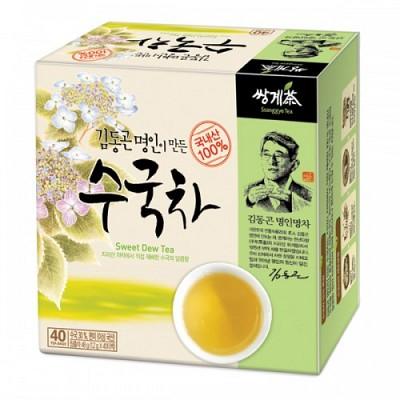 쌍계명차 단맛과 은은한 박하향 김동곤명인 수국차 40티백