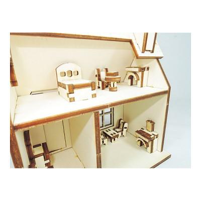 인형의 집 만들기 Mother Goose 시골집 만들기 키트 ARCH2015002
