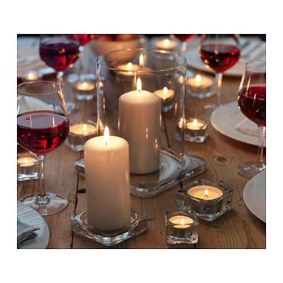 GLASIG 캔들 접시 양초접시 유리접시 인테리어 초홀더 이벤트 파티 프로포즈