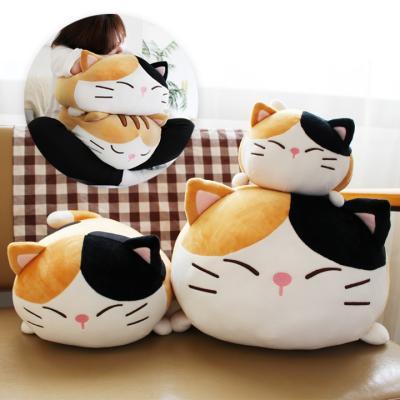 모찌모찌 까망 고양이쿠션 L