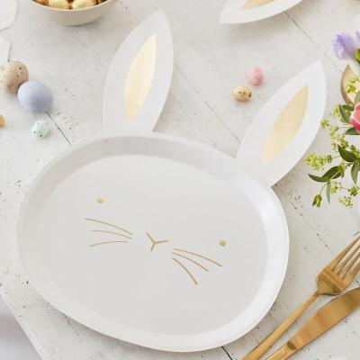토끼 종이접시 Easter bunny paper plate 부활절