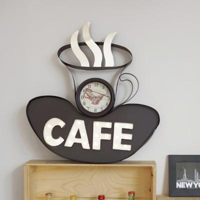 사인보드 안내판 루리앤메리 표지판 CAFE 전구등 시계