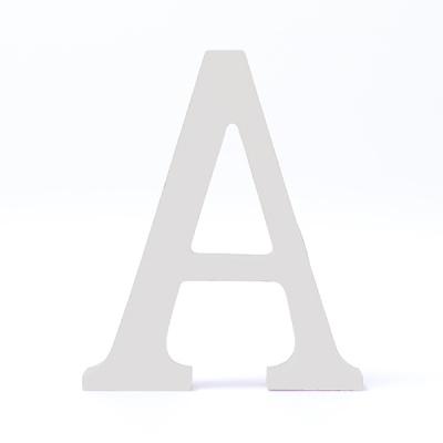 이니셜 우드 알파벳 장식 / 원목 인테리어 소품 / WHITE