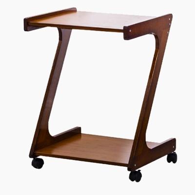 창가테이블 원목사이드테이블 Z자형 이동식 테이블