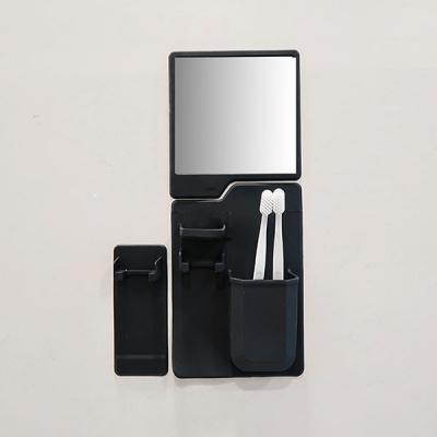 실리콘 칫솔 면도기 양치꽂이
