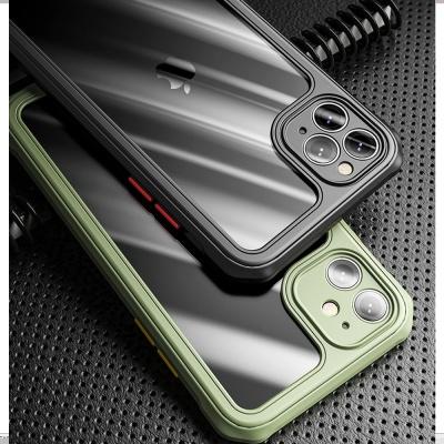 아이폰 11 pro max/se2 카메라보호 투명 풀커버케이스