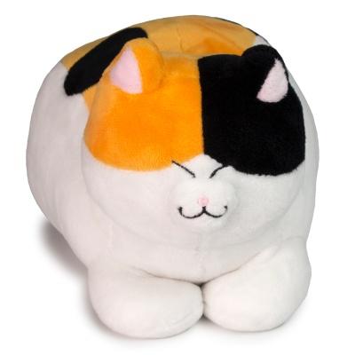식빵뚱냥 아기 고양이 인형 - 삼색