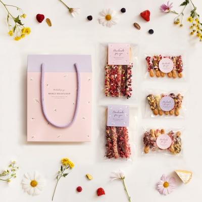 데이지 마카롱 베리 막대과자 초콜릿 만들기 DIY 세트