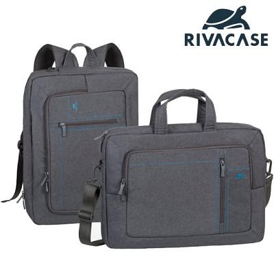 백팩 겸 숄더형 16형 노트북 가방 RIVACASE 7590 (두가지 스타일 / 태블릿PC & 액세서리 등 수납)