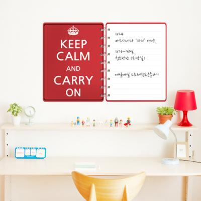 cm135-keep calm_칠판시트지_칠판스티커
