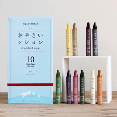 미즈이로 야채크레용(10색) 미술놀이 어린이날선물