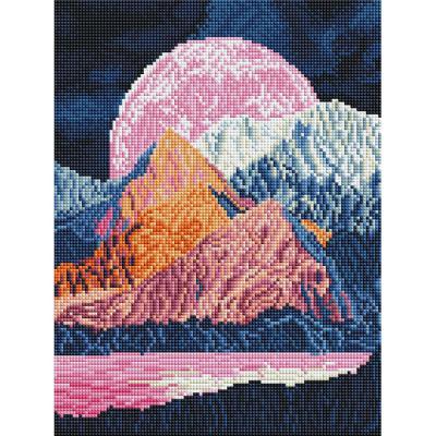 신비로운 풍경 (캔버스형) 보석십자수 30x40