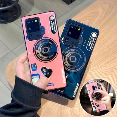 갤럭시노트20 울트라/카메라 그립톡 실리콘 폰케이스