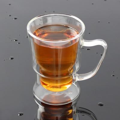 [로하티]에델 이중 유리컵 / 내열유리 손잡이잔
