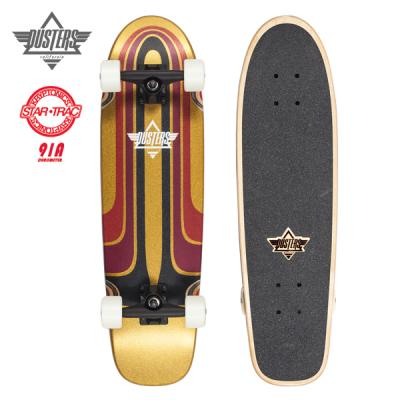[DUSTERS] 28 GRIND KRYPTONICS WHT/RED CRUISERBOARD