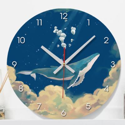 pk939-바다를누비는고래_인테리어벽시계