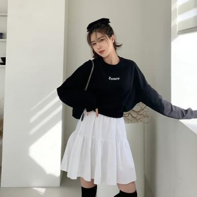 여성 미니 스커트 치마 팬츠 로케트, 쉬폰