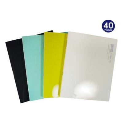 아이비스 컬러PP클리어화일40P(SP)-민트