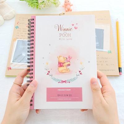 초음파앨범(임신다이어리)-곰돌이 푸, 행복한 시간