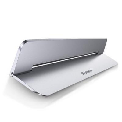 베이스어스 부착형 휴대용 노트북 거치대 홀더