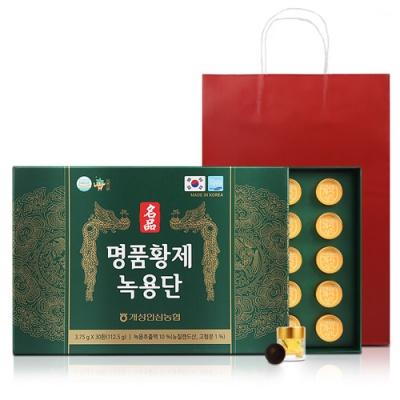 [개성인삼농협] 명품 황제 녹용단 3.75gx30환