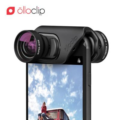 [올로클립] 아이폰7/7+/8/8+ 코어렌즈 3in1 어안 접사 셀카