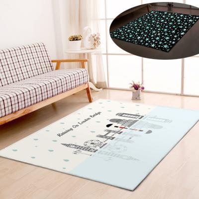 굿나잇 놀이방 야광매트 소형 100x150 런던
