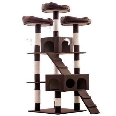 헬로망치 프리미엄 대형 고양이 직조 캣타워 GB8896