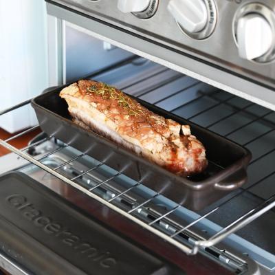 직화 오븐 가능한 그라세 생선 내열 도자기팬