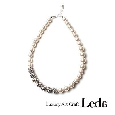 [레다주얼리] 파리지엔느 Necklace (화이트)