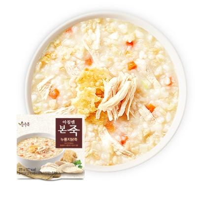 (본죽/무료배송)아침엔본죽 누룽지닭죽 270g x 7개