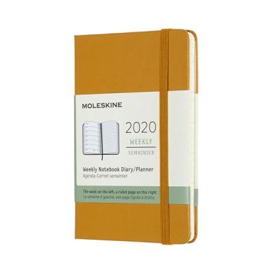 몰스킨 2020위클리/라이프옐로우 하드 P