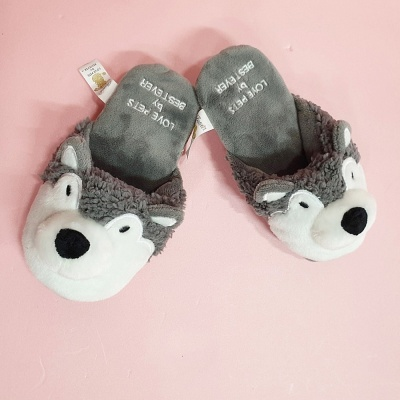 Love Pet Squeaky Husky slipper허스키바스락삑삑