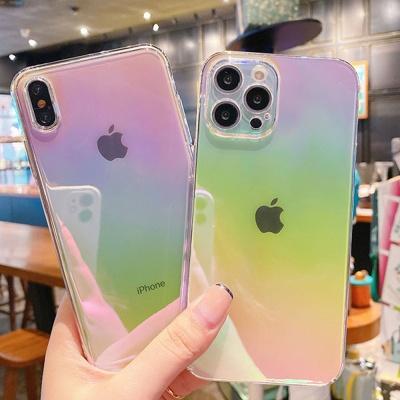 아이폰 12 11 미니 pro max x se2 오로라 젤리 케이스