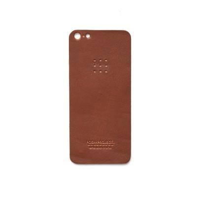 503 아이폰 5/5S 가죽 스킨 (brown)