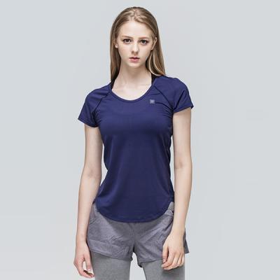 [TS7047 네이비]여성 트레이닝운동복 서플렉스 반팔 요가복
