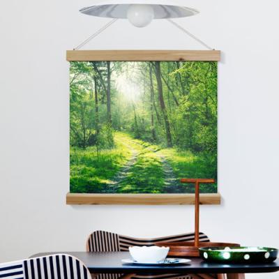 tc446-우드스크롤_60CmX60Cm-화합과화목의상징숲