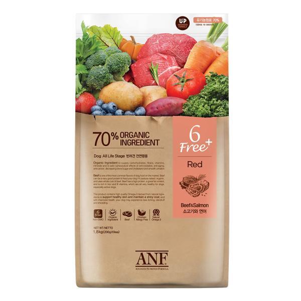 ANF 6Free 플러스 소고기+연어 1.8kg 강아지사료