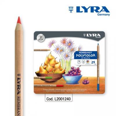 LYRA-리라 램브란트 폴리칼라(24색)-유성색연필
