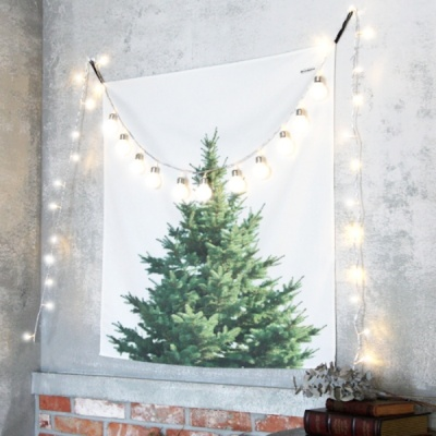 패브릭 행잉 크리스마스 트리 / 패브릭 포스터