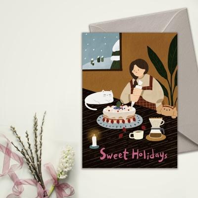 [카드] SWEET HOLIDAYS