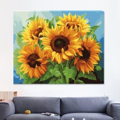 DIY 명화그리기 [ 5개의 태양 ] - 40cm*50cm