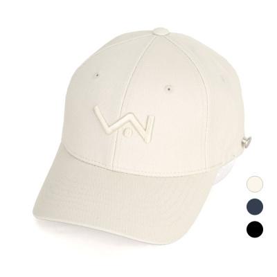 [디꾸보]자수 레터 마킹 코튼 볼캡 모자 AC626