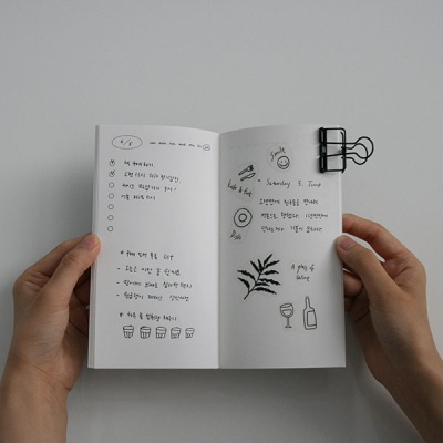monogram note