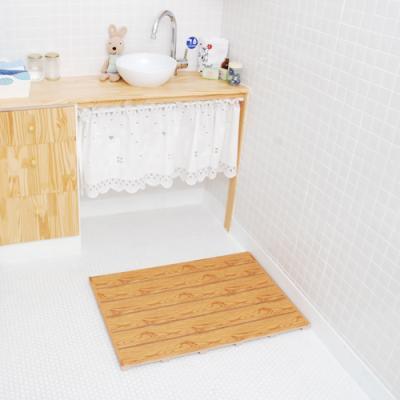 [토마톰스]다용도 욕실/베란다 발판_오크_대