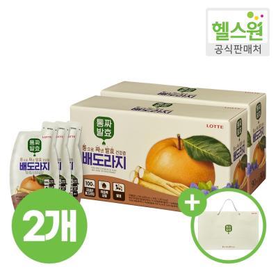 [헬스원] 통짜발효 배도라지 30포 30일분 x2개