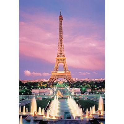 1000피스 직소퍼즐 - 에펠탑의 석양 (야광)