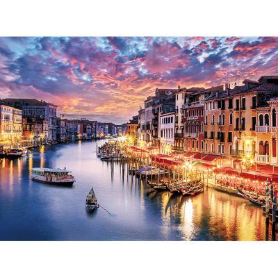 500피스 직소퍼즐 - 베네치아 황혼의 환락