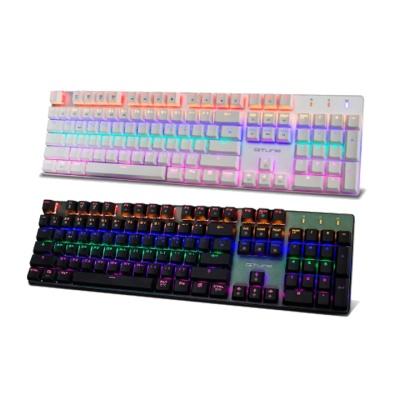 한성컴퓨터 레인보우 백라이트 축교환 키보드 GK360 RAINBOW (오테무 스위치 / 하드웨어 매크로 / 청축,적축,갈축)