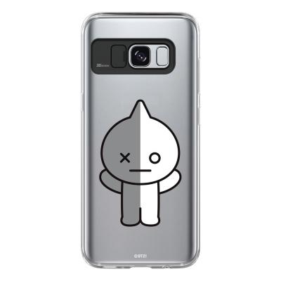 BT21 Galaxy S8 / S8 Plus 반 라이팅 케이스 (Soft)